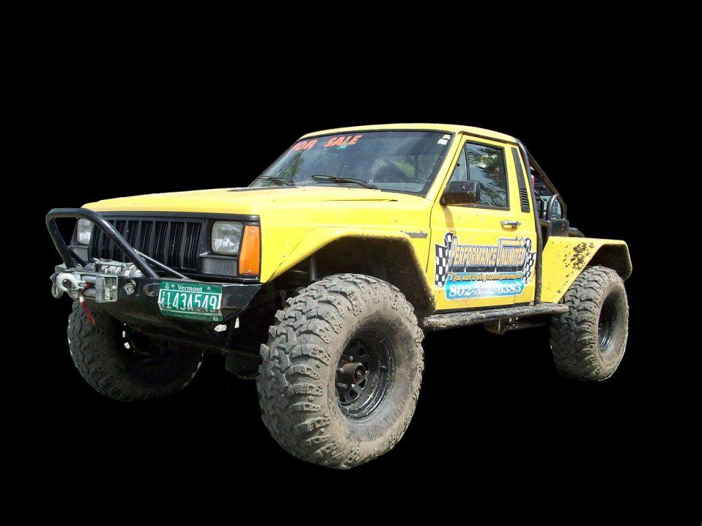 Custom Jeep Comanche