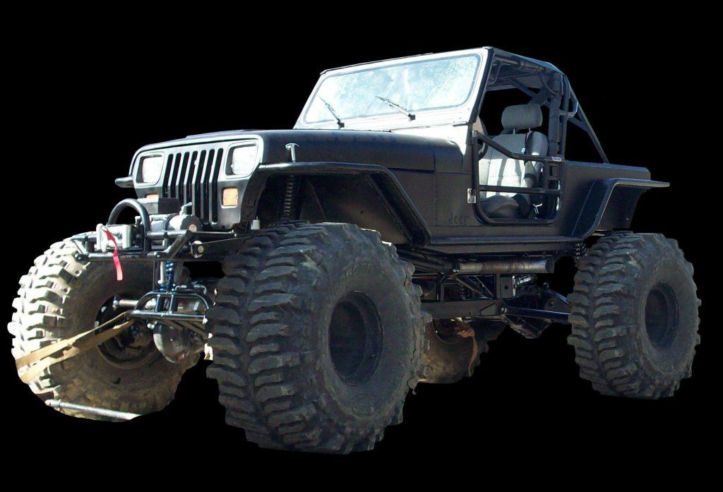 Custom Mud Jeep