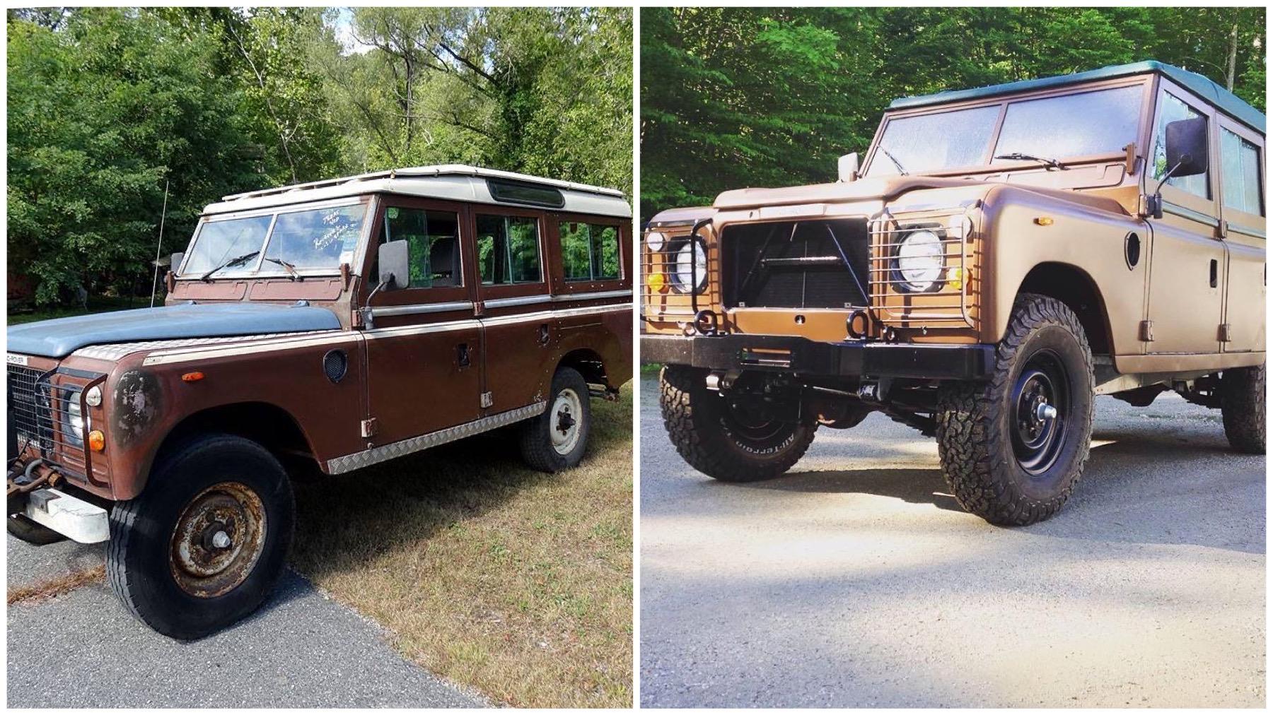 Land Rover Restoration Vermont