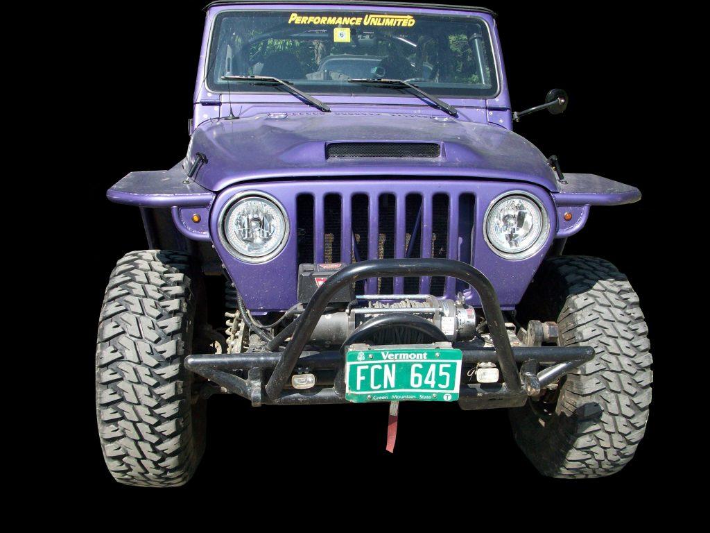 Modified Jeep Wrangler